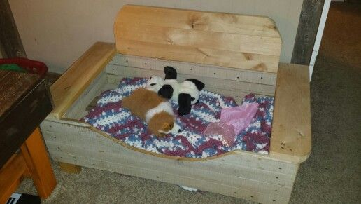 Dog bed for Paisley and Penny...awwe