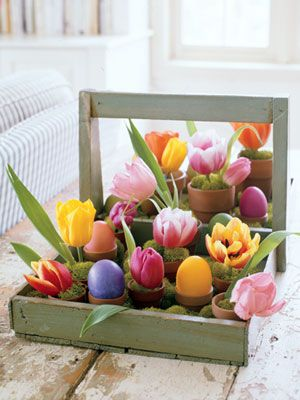 Easter Flower Arrangements - Floral Centerpieces for Easter - Good Housekeeping
