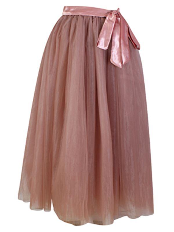 e81bee50aae Antique Rose Maxi Tulle Skirt - Elsie s Attic
