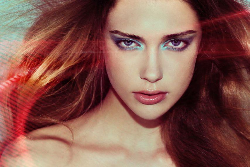 laura berlin model, red hair, blue eye makeup | Álbum Aleatório 4 ...