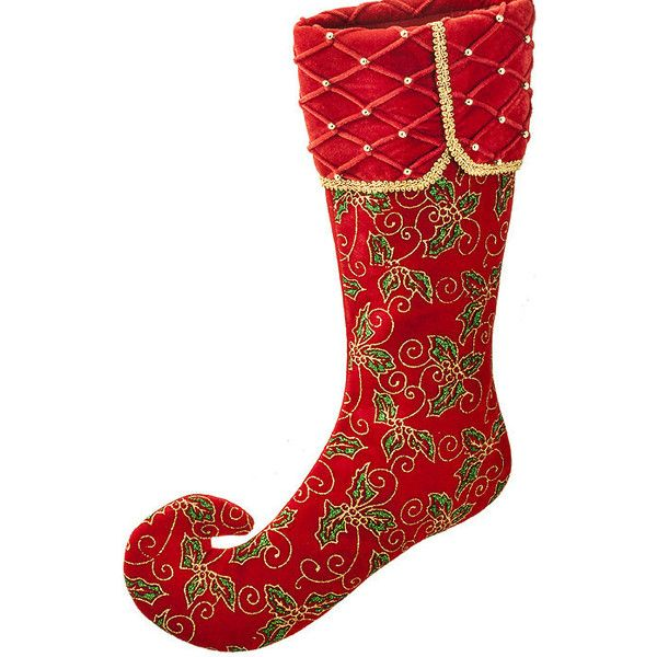 Santa's Little Helper Holly Christmas Stocking ($48) ❤ liked on Polyvore featuring home, home decor, holiday decorations, christmas, santa christmas stocking, christmas holiday decor, christmas stockings, christmas home decor and christmas holiday decorations