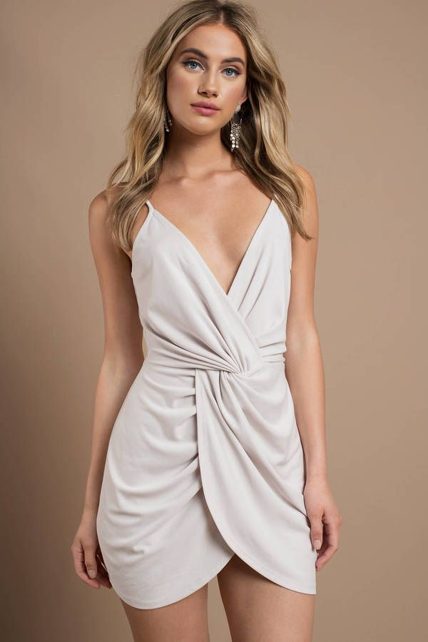 Amber Twist Bodycon Dress In 2019 Dresses Fashion