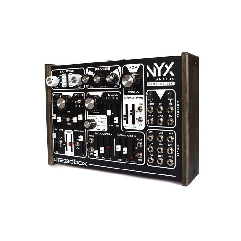 Dreadbox nyx semi modular analog synthesizer andertons