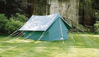 Patrol 14 Canvas Ridge Tent | Scout Shops - 100% profits back into UK Scouting : ridge tent - memphite.com