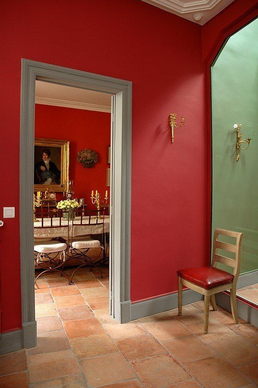 Red Colour Wall: Designers 12 Favorite Shades Of Red Paint {and A Gift