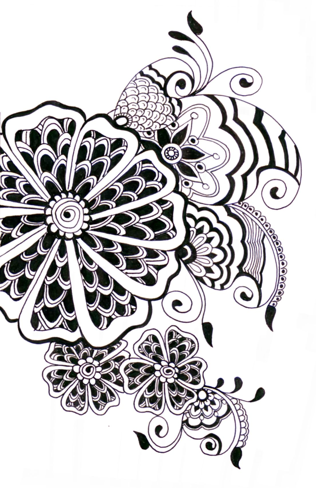 zentangle   obrázky   Pinterest   Mandalas, Zentangle y Dibujo