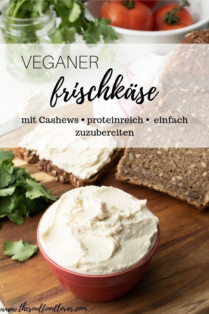 Photo of Veganer Frischkäse aus Cashewkernen – The Soul Food Lover