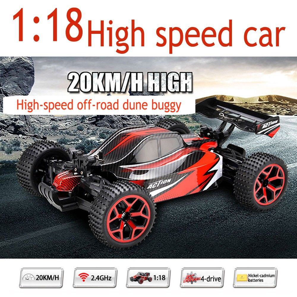 Toys car battery   Electric RC Cars Remote Control Toys High Speed Radio control