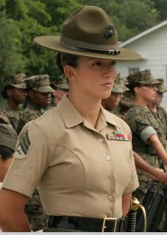 http://www.bing.com/images/search?q=Female Marine Drill Sergeant ...