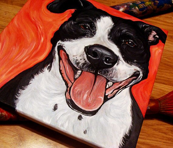 Pin On Animal Art By Woof Factory Aka Steph Fitzsimmons My Paintings