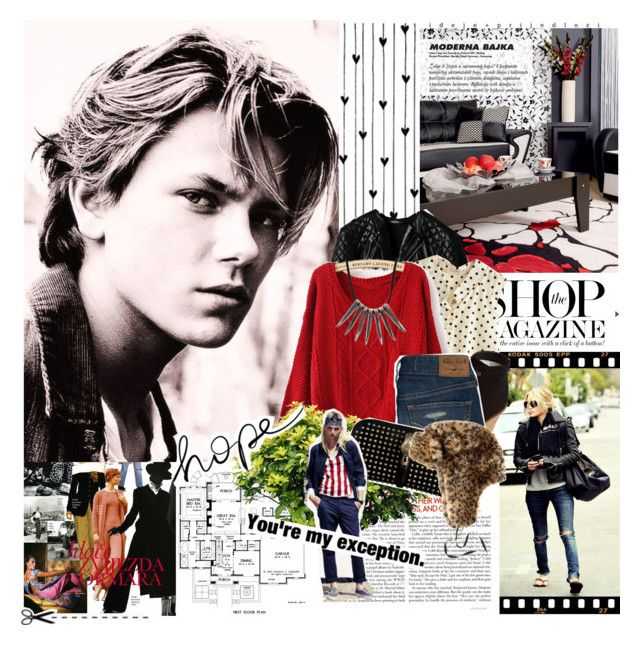 """""""River Phoenix"""" by mars ❤ liked on Polyvore featuring moda, Camp, Balenciaga, ESPRIT, Hollister Co. e Burberry"""