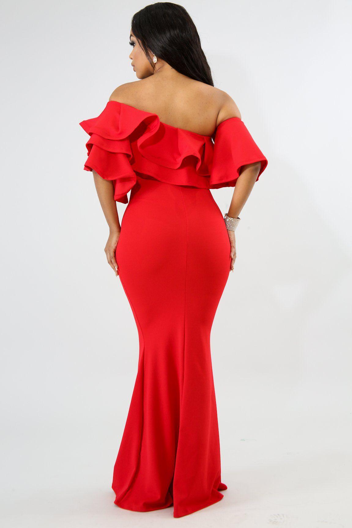 Description This Flare Design Maxi Dress Features A Stretchy Fabric Off Shoulder Neckline Pleated Flare Sleeves F Maxi Dress With Sleeves Dresses Maxi Dress [ 1727 x 1151 Pixel ]