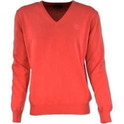 Photo of Sweater in washed-out look made of combed cotton Carlo ColucciCarlo Colucci