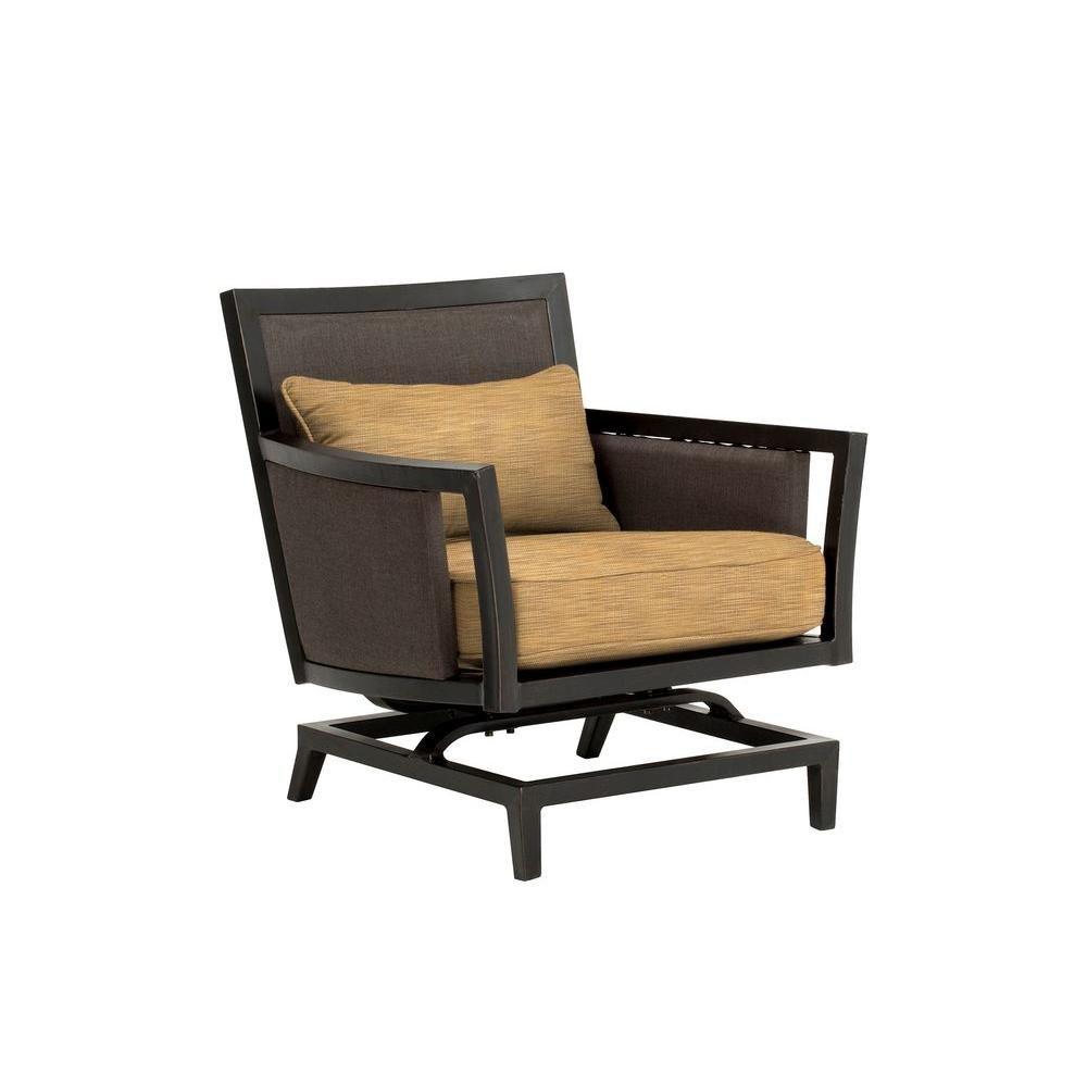 Tremendous Brown Jordan Greystone Patio Motion Lounge Chair In Toffee Download Free Architecture Designs Intelgarnamadebymaigaardcom