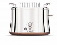 KRUPS KH754 Silver Art Collection 2-Slice Toaster with Bun Warmer Stainless Steel $79.95  FREE SHIPPING & HANDLING