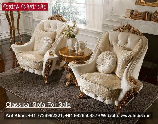 Traditional Sofa Classic Sofa Set Traditional Sofa Fedisa