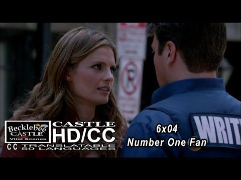 "Castle 6x04 ""Number One Fan"" Beckett is Worried for Castle 