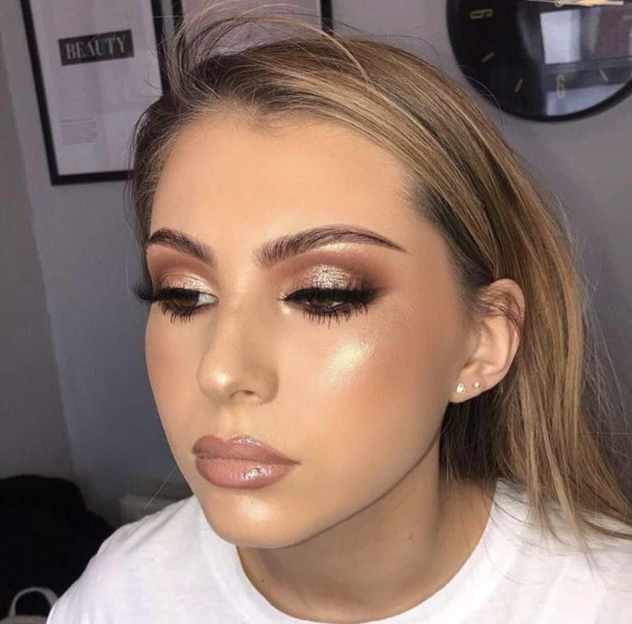 Pin by Clulush on Makeup in 2020 Bridesmaid makeup, Glam