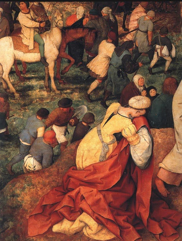 Die kreuztragung - Detalle - Pieter Bruegel the Elder - ©Regenbogen