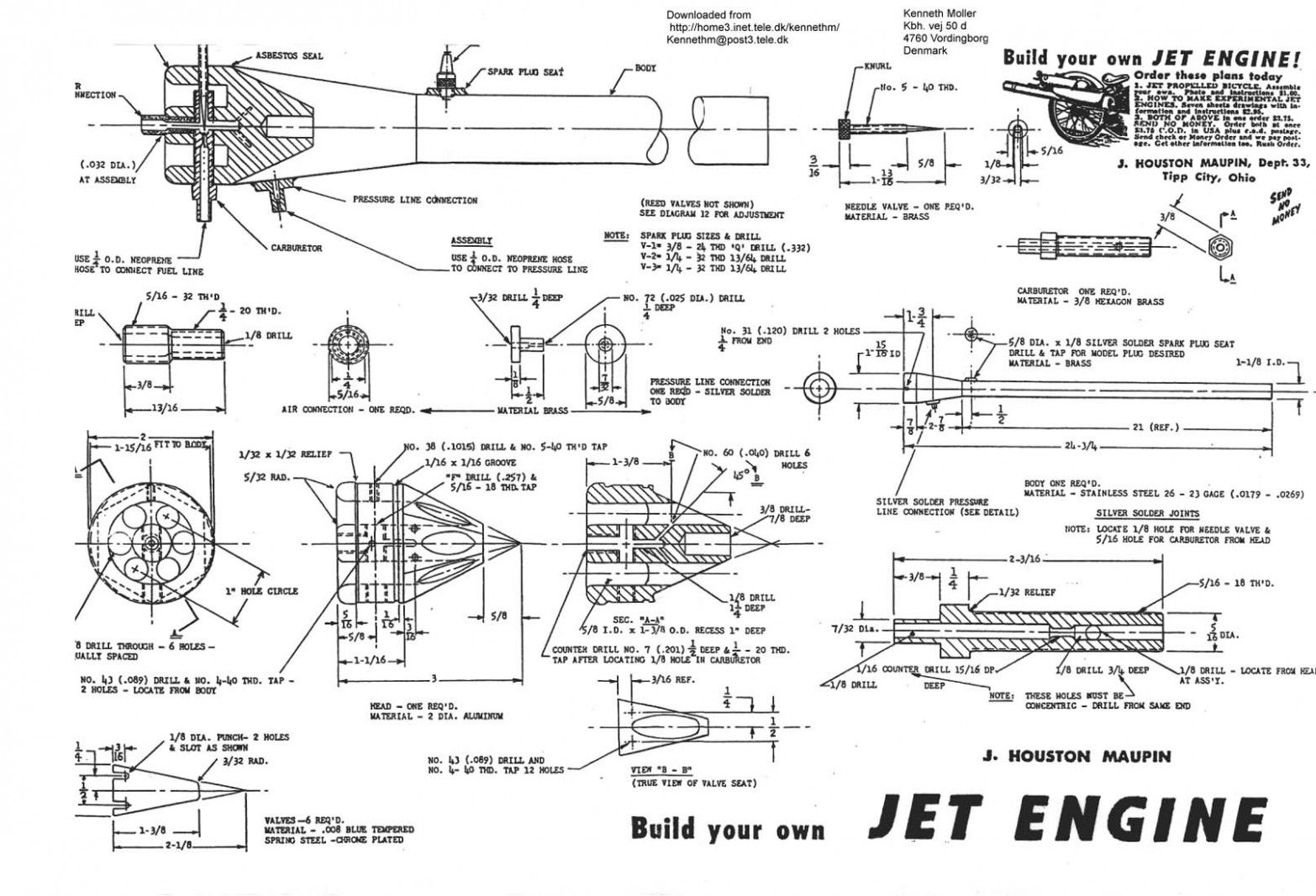 Engine Turbofan Diagram Di