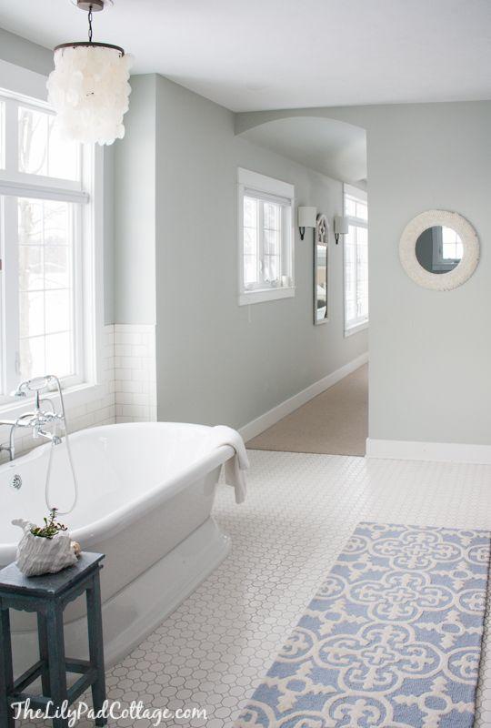 master bathroom decor badezimmer badezimmer bad und haus. Black Bedroom Furniture Sets. Home Design Ideas