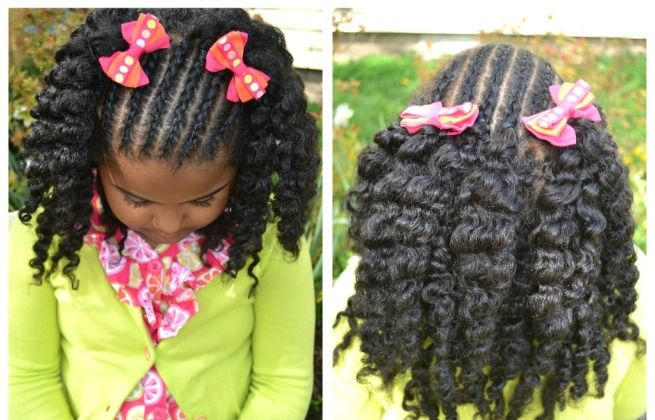 Surprising 1000 Images About Kids Braids Hairsytles On Pinterest African Hairstyle Inspiration Daily Dogsangcom