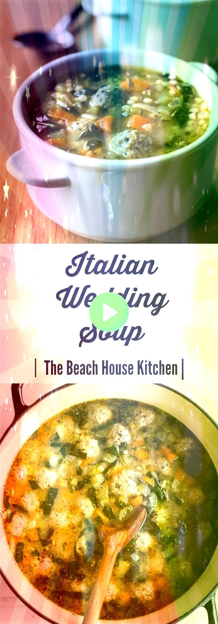 Wedding Soup  A hearty comforting bowl of this Italian Wedding Soup is a delicious meal in itself thebeachhousekItalian Wedding Soup  A hearty comforting bowl of this Ita...