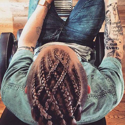 braids men cool man braid