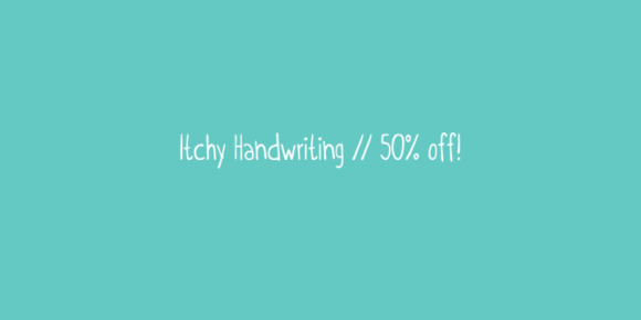 Itchy Handwriting (50% discount, 4€)
