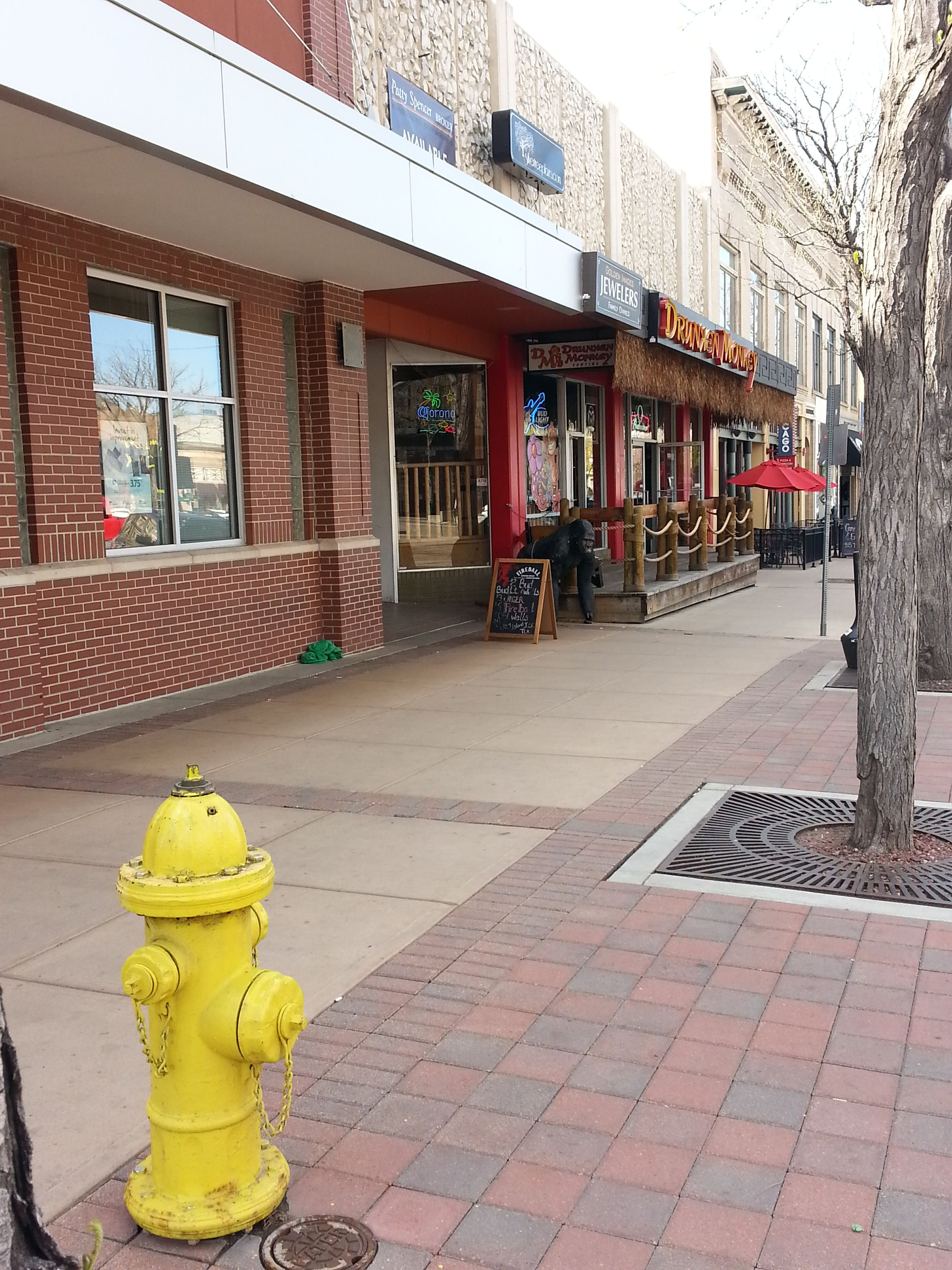 Mueller hydrant just down from the #Drunken Monkey bar in Fort Collins, CO
