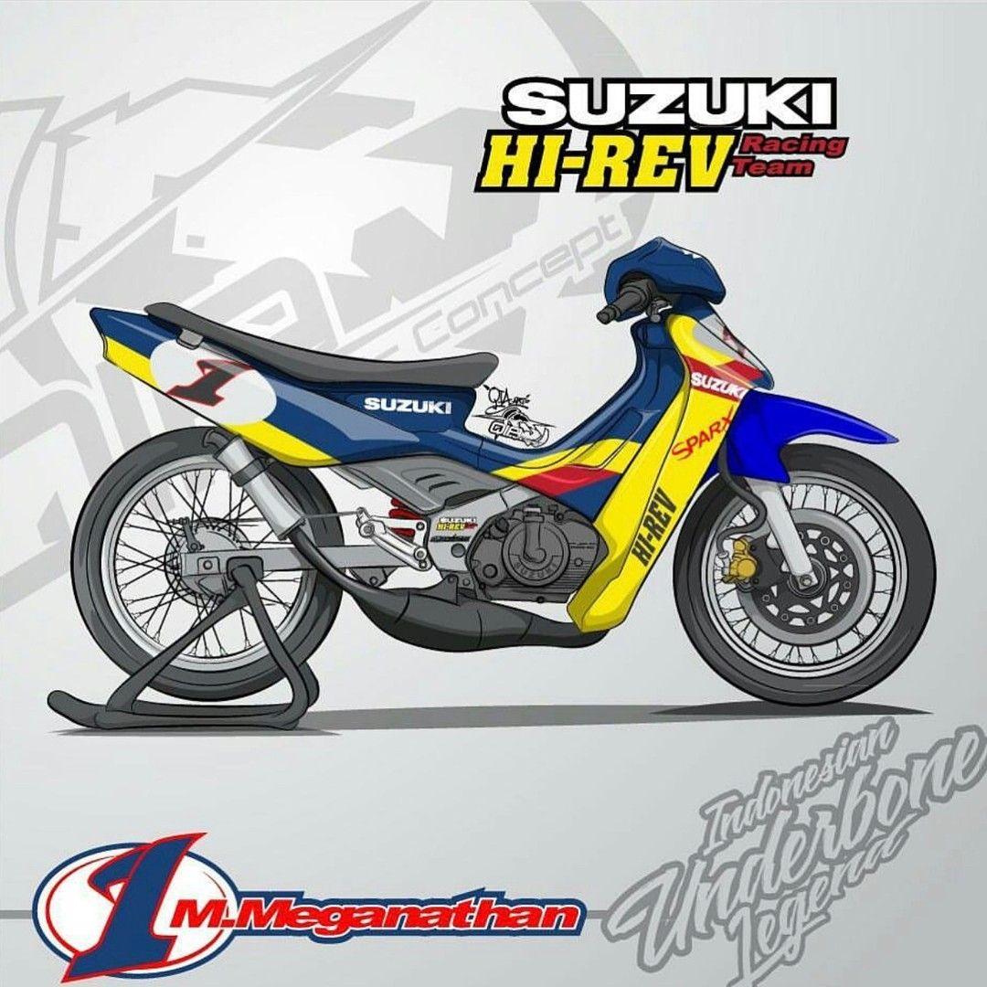 Pin Oleh Mahdy Galery Di Suzuki Satria R 120