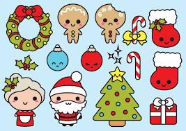 Image result for kawaii christmas drawings