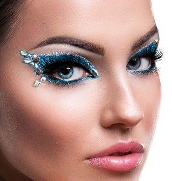 xotic eyes stage makeup kit  azure  kit trucco trucco