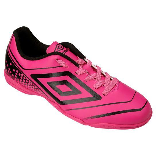 a54d8984ada4a Chuteira Umbro Gear Futsal - Rosa+Preto | netshoes | Chuteiras ...