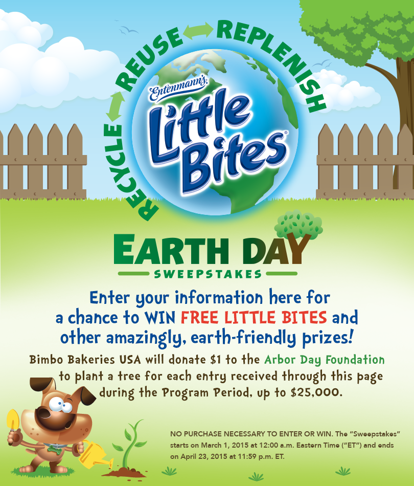 "Little Bites' Earth Day Sweepstakes ""Deal""icious Mom"