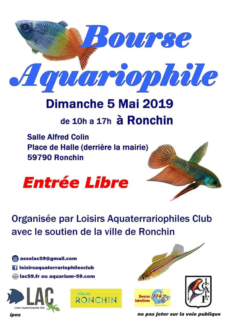 Salon De L Aquariophilie 2019 05 05 Bourse Aquariophile Lac Ronchin Bourses Aquariophiles