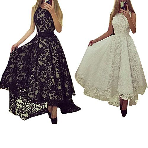 Smart Womens Lace Evening Sleeveless Prom Ball Cocktail Party Long Maxi Dresses ** Learn more by visiting the image link.
