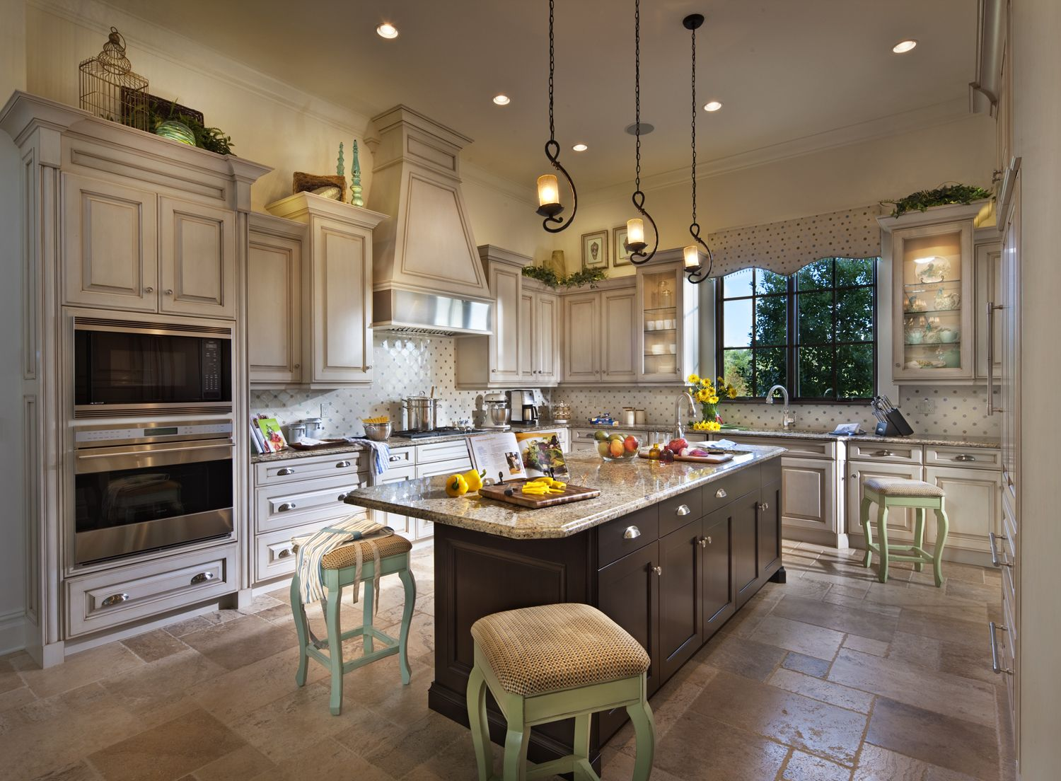 Kitchen of one of the Disney Golden Oak homes. Love it! | For the ...