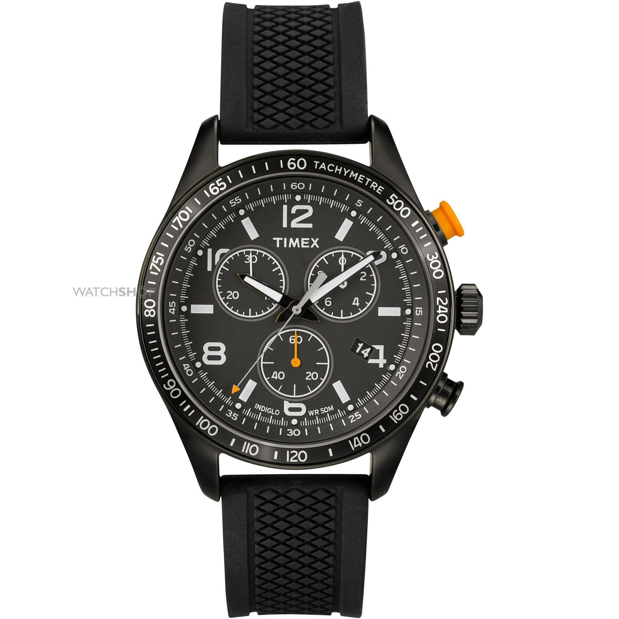 Mens Timex Indiglo Chicago Chronograph Watch T2P043  a3cfc8246424c