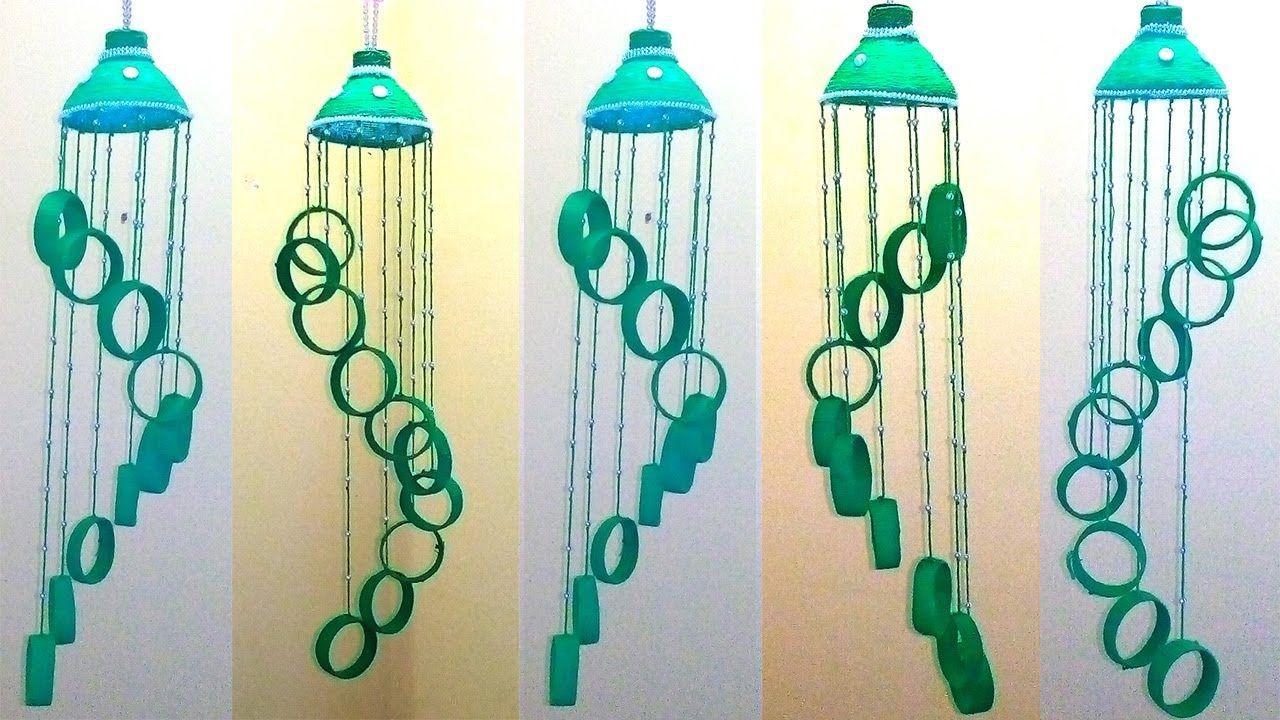 Empty Plastic Bottle Wind Chime