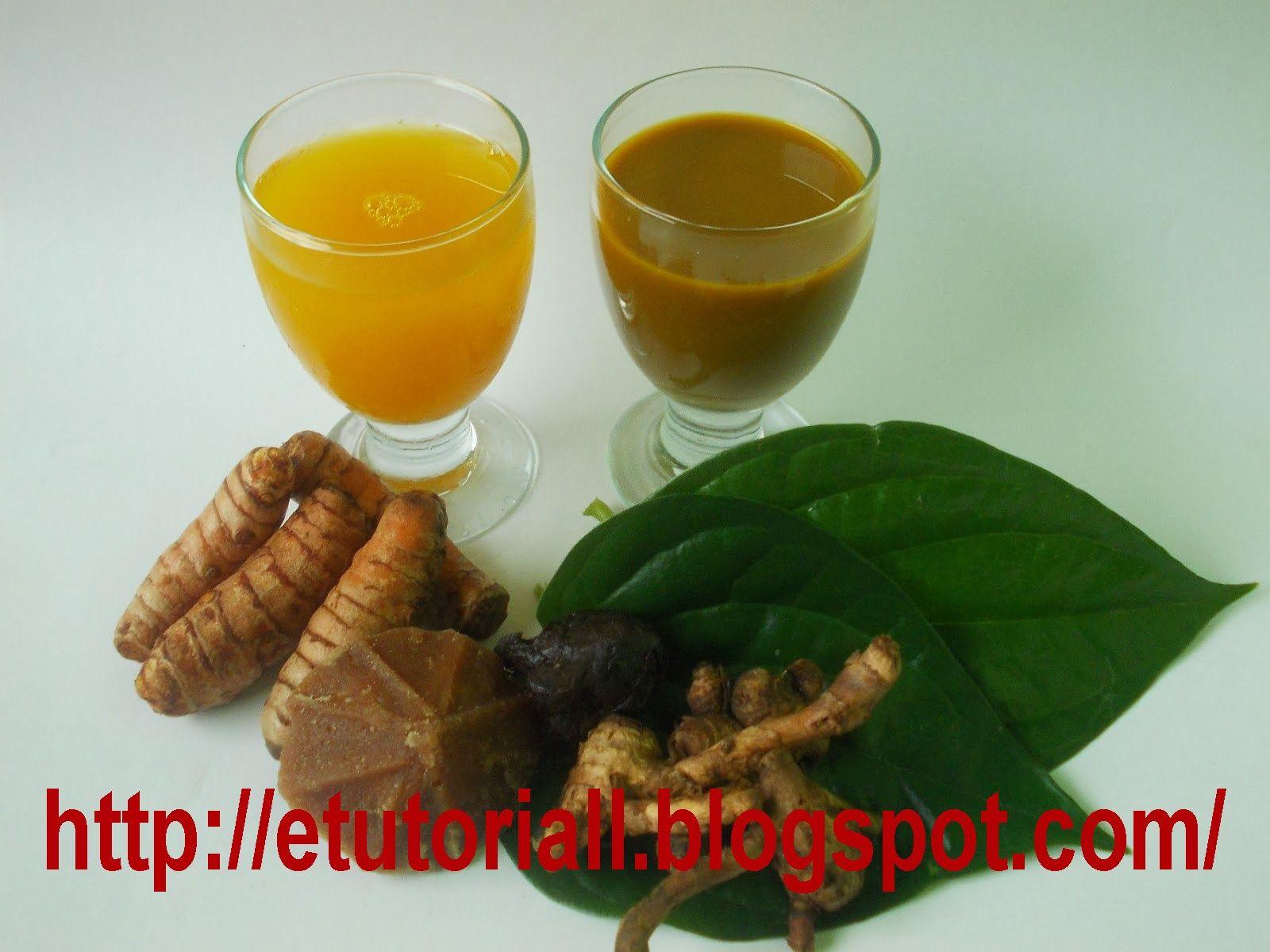 Resep Jamu Kunyit Asam Kunyit Makanan Dan Minuman Minuman Sehat