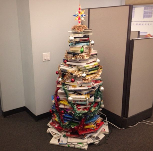 What I Learned in Making My Employees Build a Christmas Tree Out ...