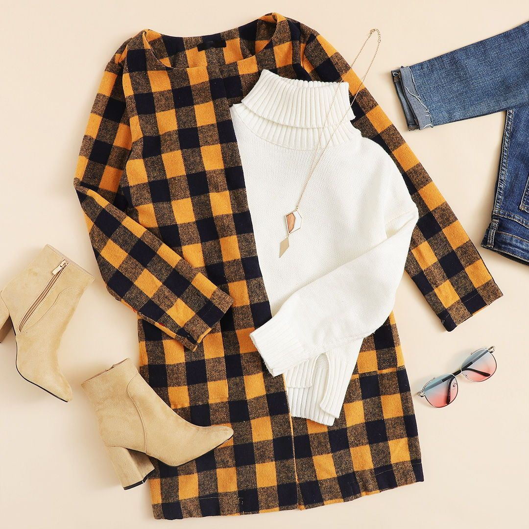 Mix & Match Drawstring Waist Hooded Jacket