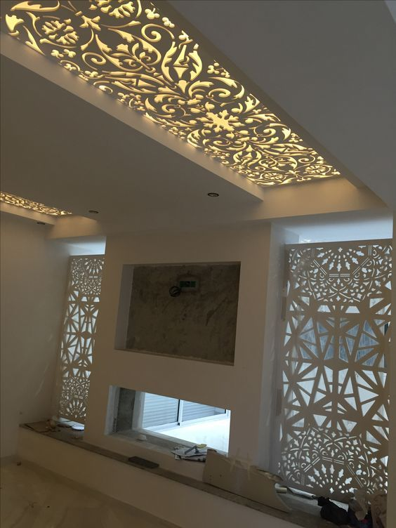 Best 20 New Modern Collection Of Creative Wall False Ceiling 400 x 300