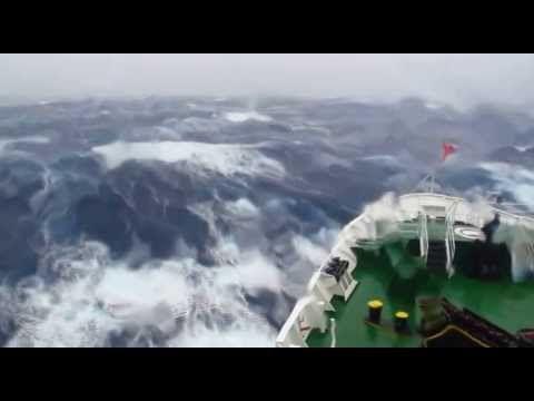 Impresionante cruce del Paso Drake - www.cuatroletras.cl - YouTube