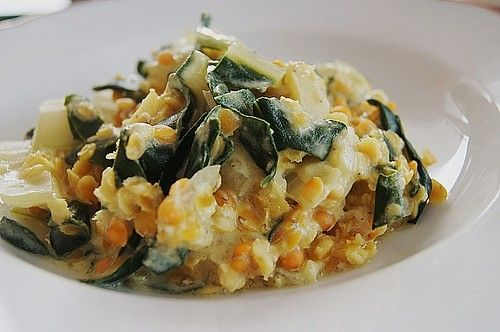 Photo of Lentils and chard Curry