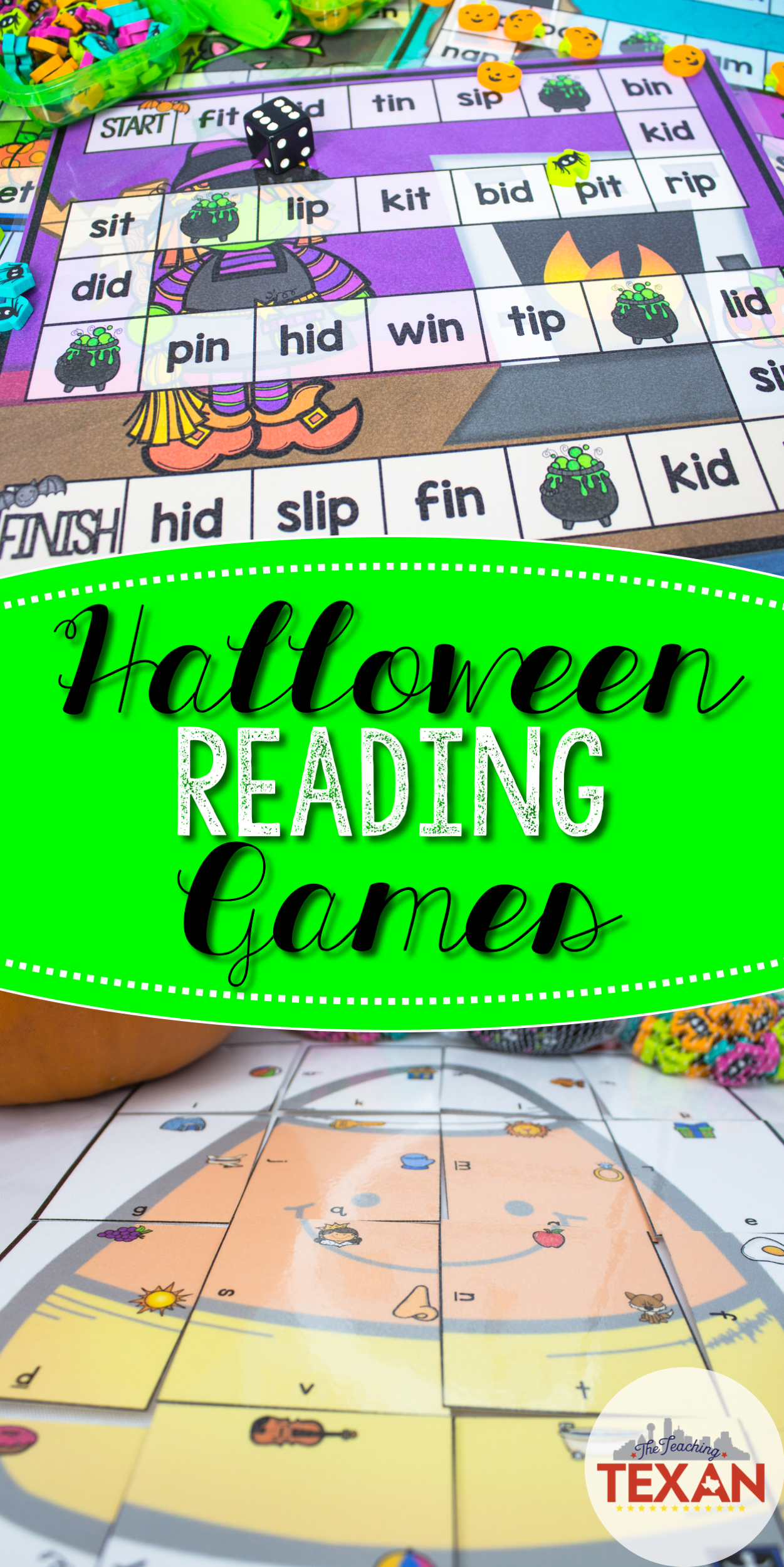 - Spotlight On Awesome Halloween Reading Center Games That Will Make