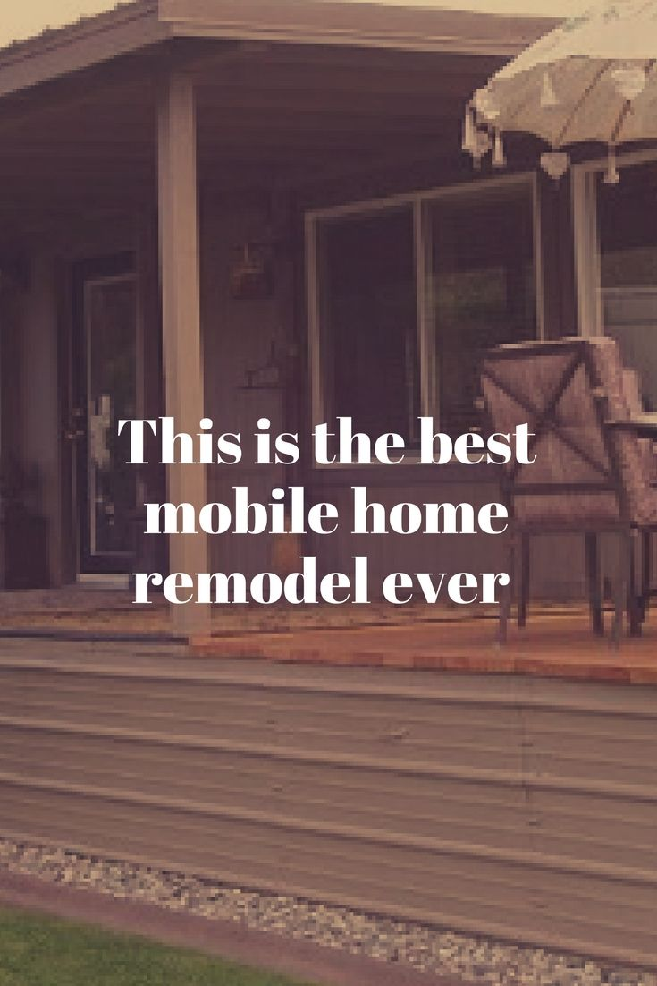 This 1978 Mobile Home Remodel Is One Of Our Favs