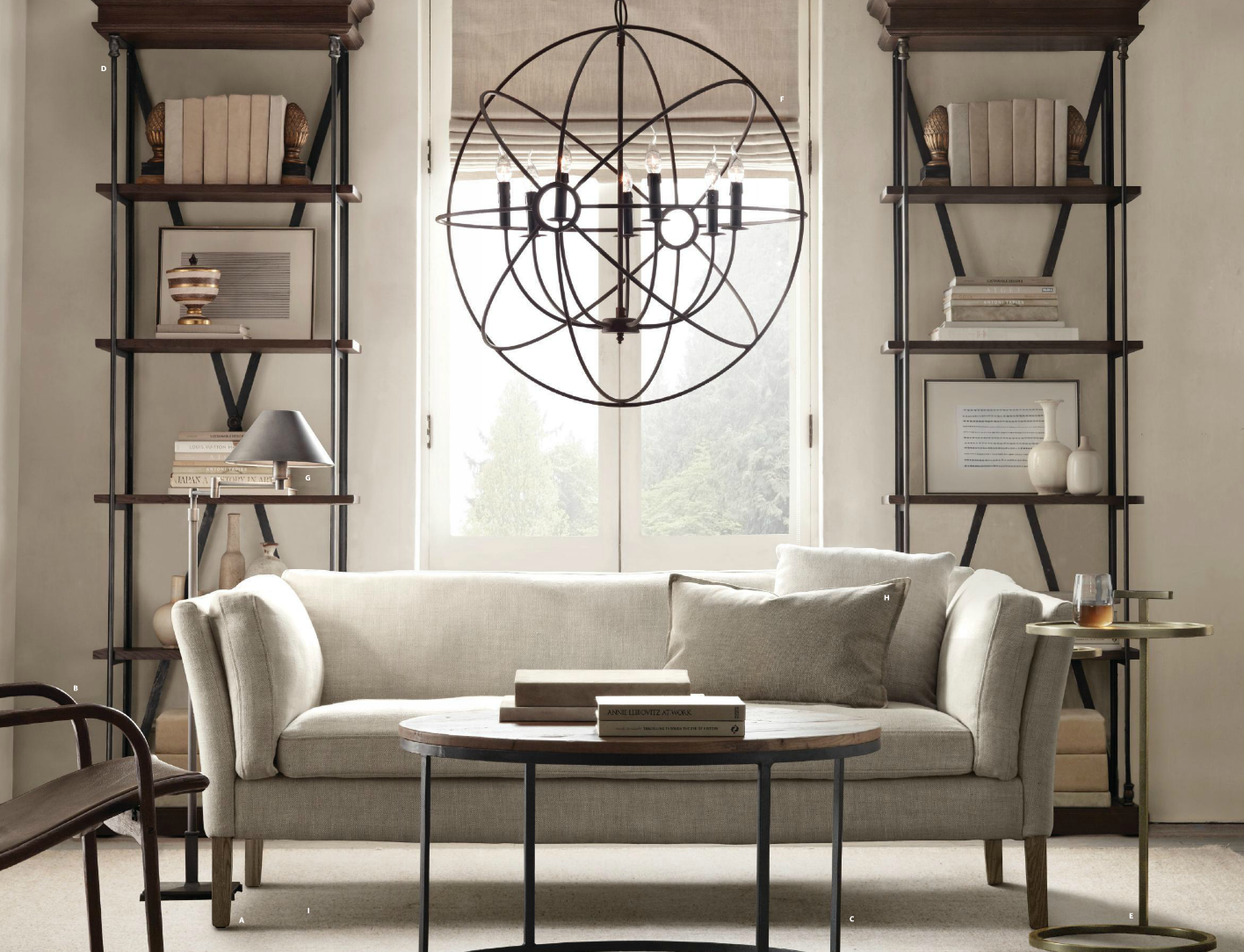 Living Room Designs For Small Spaces 2013 restoration hardware - small spaces inspiration | ideas for