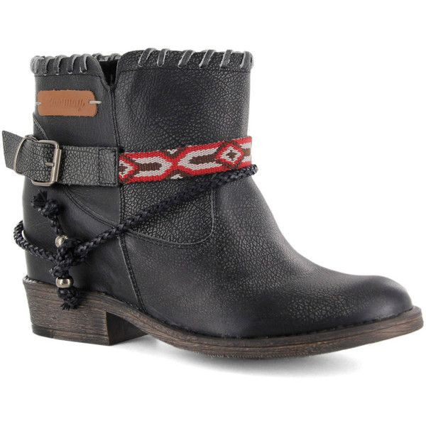 Coolway Womens Black Boots Faule